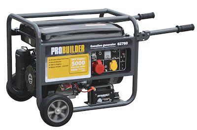 Generator 5500W Schuko 389CC