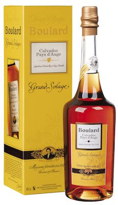 Boulard Calvados Grand Solage, Pays d'Auge 100 cl. - Alc. 40% Vol. In gift Box.