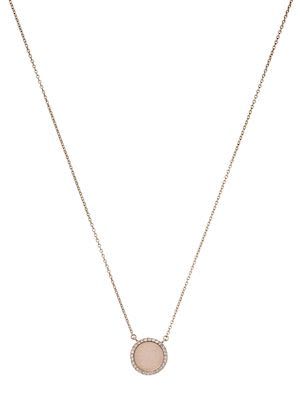 Michael Kors Ladies' Heritage Rose Gold-Tone Medallion Pendant