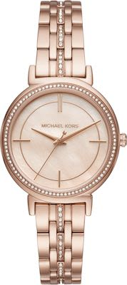 Michael Kors Ladies' Cinthia Rose Gold-Tone Watch