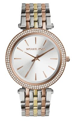 Michael Kors Ladies' Darci Silver Dial Watch