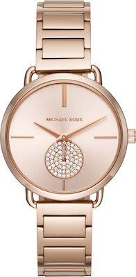 Michael Kors Ladies' Portia Rose Gold-Tone Watch