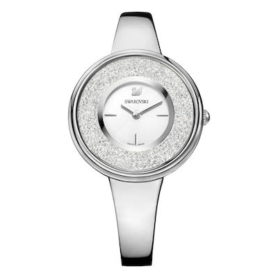Swarovski Ladies' Silver Crystalline Pure Watch
