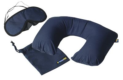Travel Blue Sleep Set