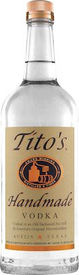 Tito's Handmade Vodka 100 cl. - Alc. 40% Vol.