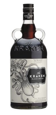 The Kraken Black Spiced Rum 100 cl. - Alc. 40% Vol.