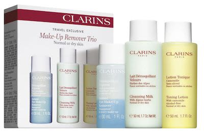 Clarins Make-Up Remover Trio Normal/Dry Skin