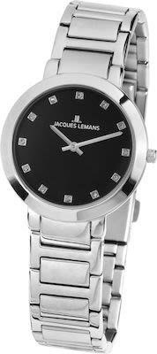 J.L. Ladies' Classic Milano Watch Black