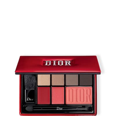 Dior Make-Up Set 4x Eyeshadows 1,60 g N° 530 + N° 573 + N 583 + N° 693 + Lipstick Rouge N° 999 1,33 g + Lipstick Addict