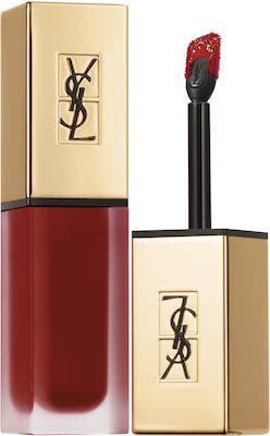 Yves Saint Laurent Tatouage Couture Lipstick With Applicator N° 8 Black Red Code 6 ML