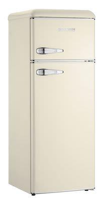 Severin KS9956 retro refrigerator/freezer Creme