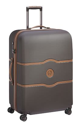 Delsey Châtelet AIR 77 cm (112 L) 4W Trolley, Chocolate