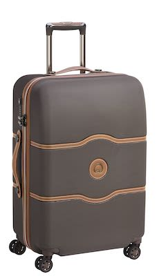 Delsey Châtelet AIR 69 cm (72 L) 4W Trolley, Chocolate