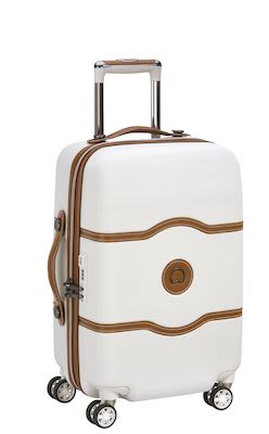 Delsey Châtelet AIR 55 cm (39 L ) 4W Cabin Trolley, Angora