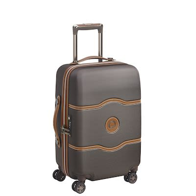 Delsey Châtelet AIR 55 cm (39 L) 4W Cabin Trolley, Chocolate