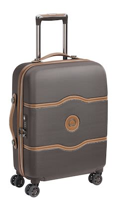Delsey Châtelet AIR 55 cm (38 L)  4W Cabin Trolley slim, Chocolate