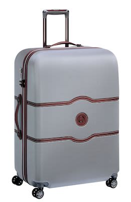 Delsey Châtelet AIR 77 cm (112 L) 4W Trolley, Silver