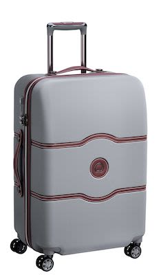Delsey Châtelet AIR 69 cm (72 L) 4W Trolley, Silver