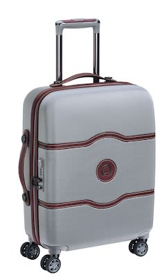 Delsey Châtelet AIR 55 cm (38 L) 4W Cabin Trolley Slim, Silver