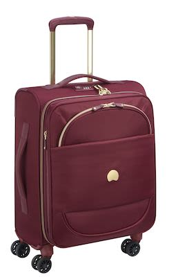 Delsey Montrouge 55 cm expandable (36+6 L) Slim, Red