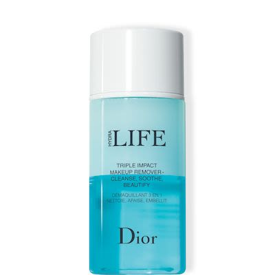 Dior Hydra Life Triple Impact Makeup Remover Cleanse, Soothe, Beautify 125 ml