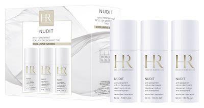 H. Rubinstein Nudit Deodorant Set 3x50 ml