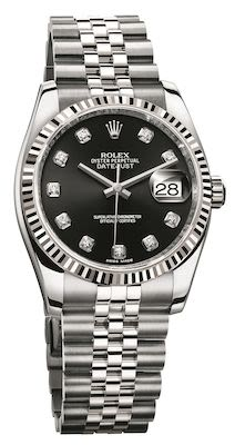 Rolex Ladies Datejust 36 Oyster Perpetual Watch