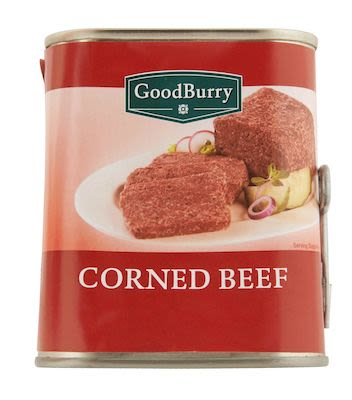 Goodburry corned beef 340g