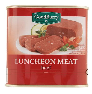 Goodburry beef luncheon meat 340g