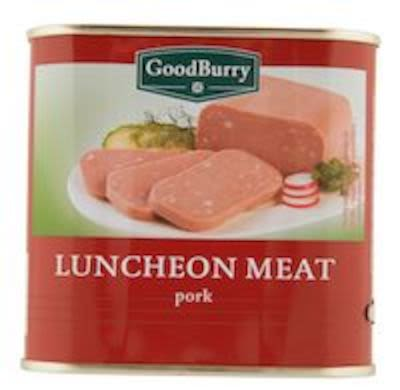 Goodburry Pork luncheon meat 340g