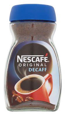 Nescafe decaffeined  100g