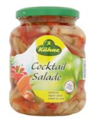 Kühne mixed pickles cocktailmix 330g