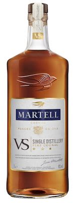 Martell VS Single Distillery 100 cl. - Alc. 40% Vol.