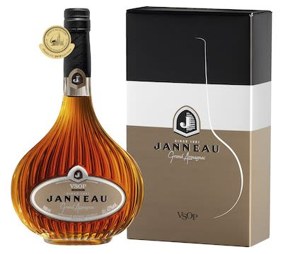 Janneau VSOP Armagnac 70 cl. - Alc. 40% Vol. In gift box.