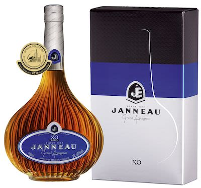 Janneau XO Armagnac 70 cl. - Alc. 40% Vol. In gift box.