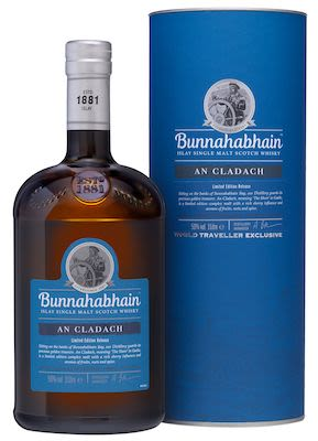 Bunnahabhain An Cladach Malt, 100 cl. - Alc. 50% Vol. In gift box. Islay.