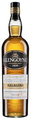 Glengoyne Balbaína  Oloroso, Sherry Casks, 100 cl. - Alc. 43% Vol. In gift box. Highland.