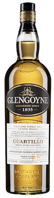 Glengoyne Cuartillo American, Sherry Casks, 100 cl. - Alc. Vol. In gift box. Highland.