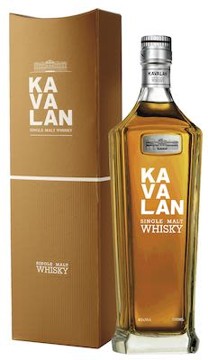 Kavalan Taiwans Single Malt 70 cl. - Alc. 40% Vol. In gift box.