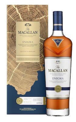 Macallan Enigma, 70 cl. - Alc.  44.9% Vol. In gift box. Speyside.