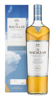 Macallan Quest, 100 cl. - Alc.  40% Vol. In gift box. Speyside.