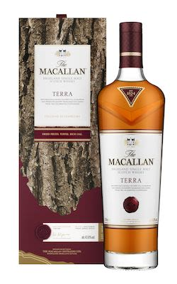Macallan Terra, 70 cl. - Alc.  43.8% Vol. In gift box. Speyside.