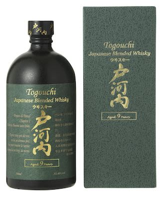 Togouchi 9 YO, 70 cl. - Alc.  40% Vol. In gift box.