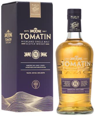 Tomatin 15 YO 70 cl. - Alc. 46% Vol. In gift box. Highland