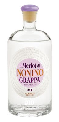 Nonino Grappa Merlot 70 cl. - Alc. 41% Vol.
