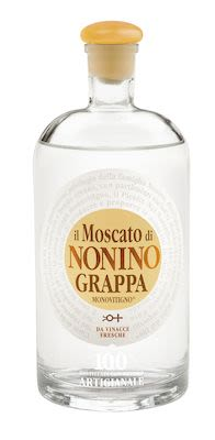 Nonino Grappa Moscato 70 cl. - Alc. 41% Vol.