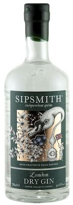 Sipsmith Dry Gin 100 cl. - Alc. 44.1% Vol.