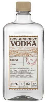Koskenkorva Vodka 50 cl. - Alc. 40% Vol.