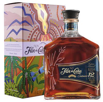 Flor de Caña Centenario 12 YO 100 cl. - Alc.  40% Vol. In gift box.