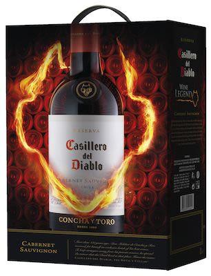 Concha y Toro Casillero del Diablo Cabernet Sauvignon BIB 300 cl. - Alc. 12.5% Vol.
